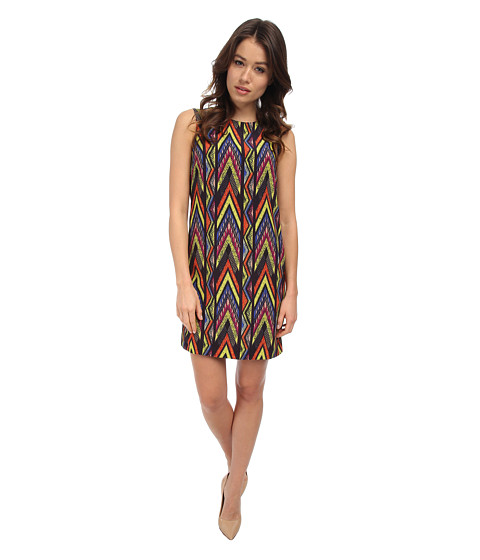 M Missoni - Tribal Zig Zag Shift (Royal) Women's Dress