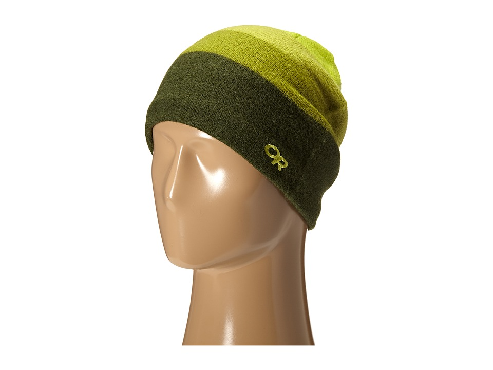 Outdoor Research - Gradient Hat (Evergreen/Hops) Knit Hats