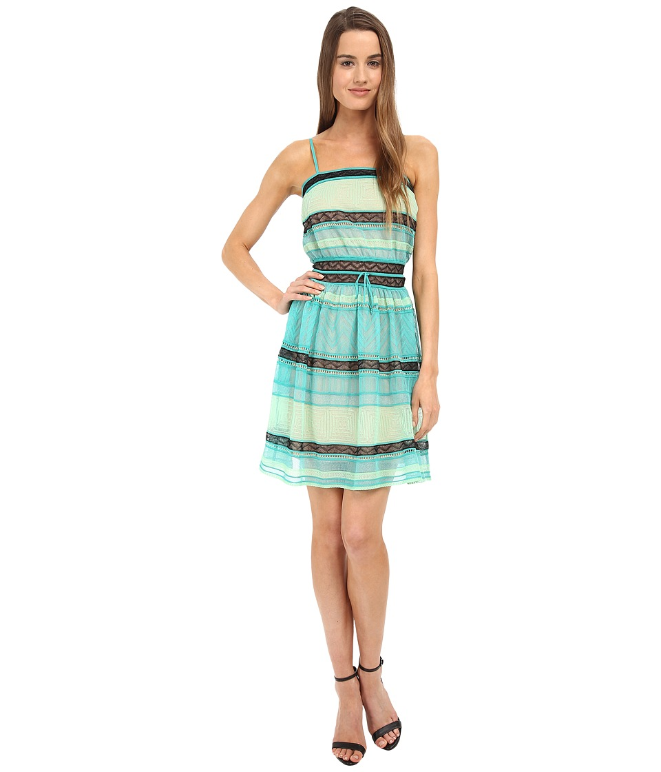 M Missoni - Fancy Ribbon New Dress (Aqua) Women's Dress