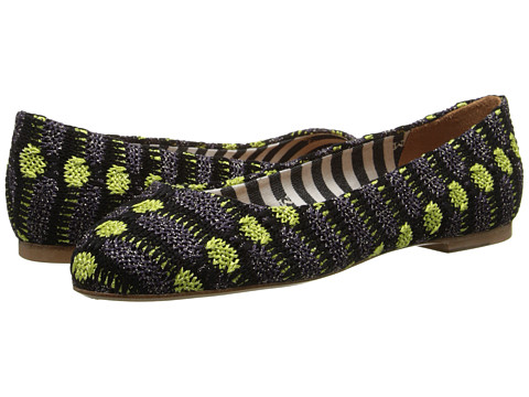 M Missoni - Lurex Knit Ballet Flat (Eggplant) Women's Flat Shoes