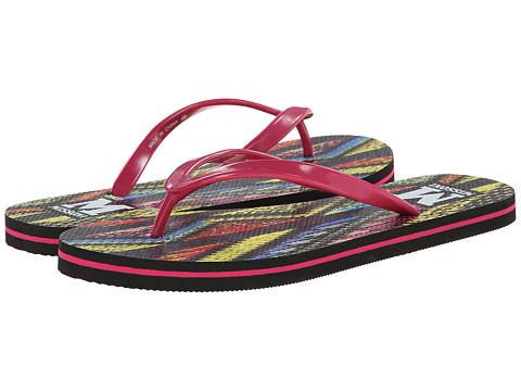 M Missoni - Printed Flip Flops (Pink) Women