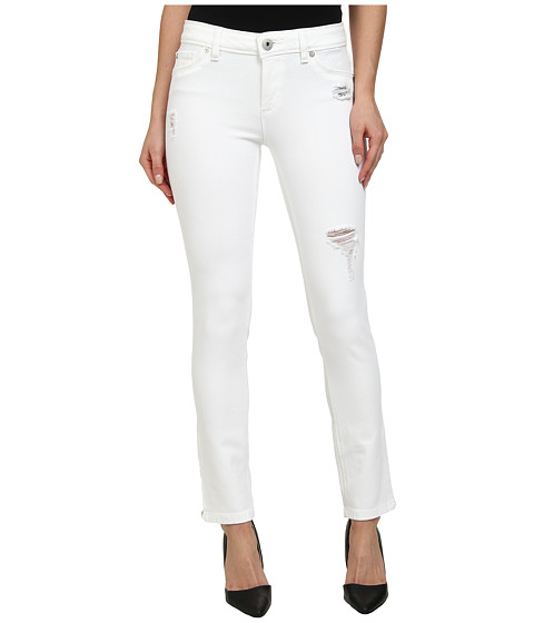 DL1961 - Angel Skinny in Swift White Distressed (Swift White Distressed) Women