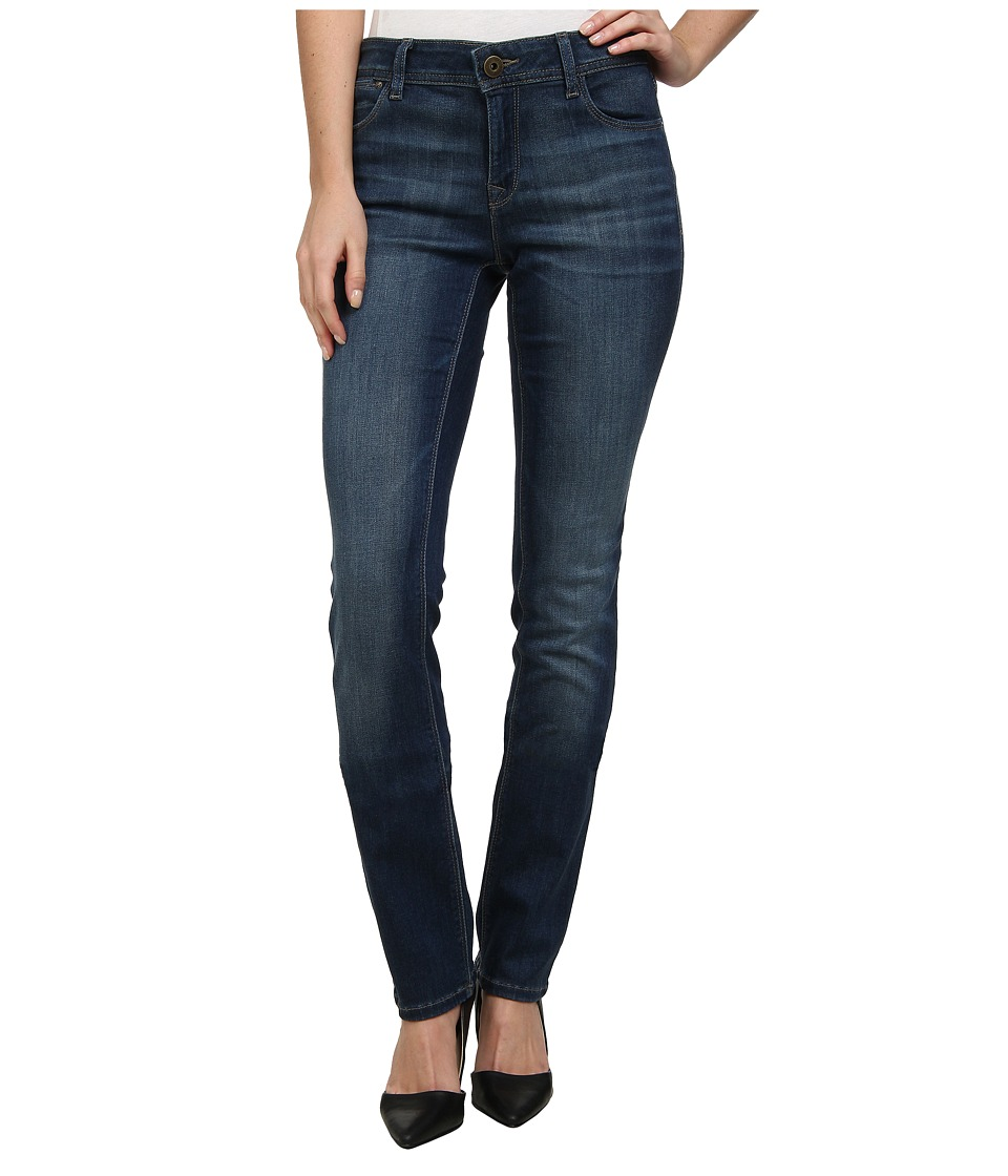 DL1961 - Coco Curvy Fit Straight Leg in Flicka (Flicka) Women's Jeans