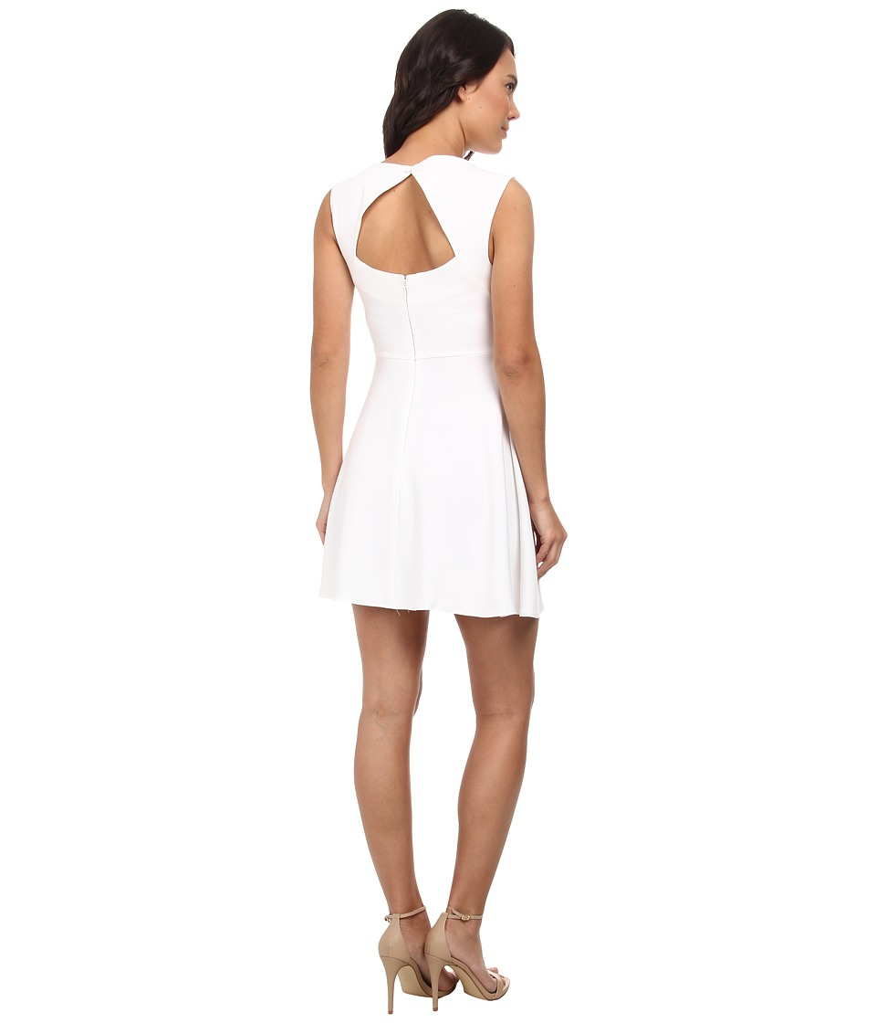 French Connection - Feather Ruth Cutout 71DLH (White) Women's Dress