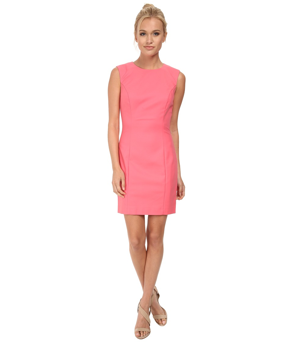 French Connection - Super Stretch Dress 71DLO (Keywest Coral) Women