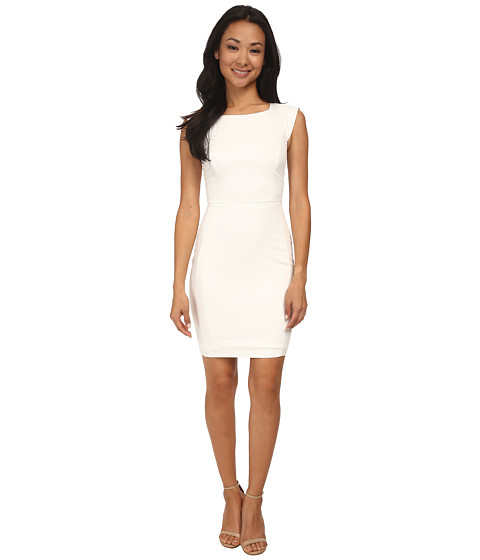 French Connection - Animal Mechanical 71DLL (White) Women's Dress