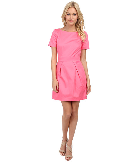 French Connection - Richie Cotton Dress 71DLG (Keywest Coral) Women's Dress