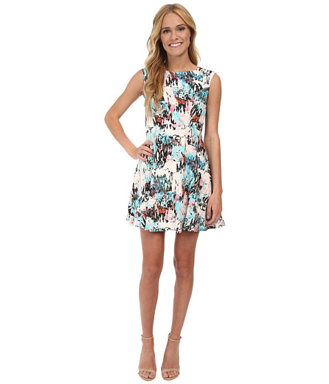 French Connection - Isla Ripple 71DEP (Day Dream Multi) Women's Dress