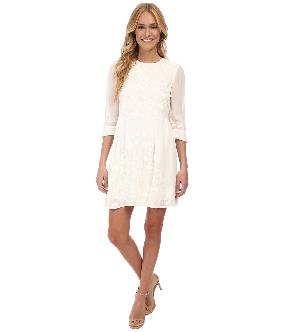French Connection - Kiko Stitch 71DEX (Summer White/Summer White) Women's Dress
