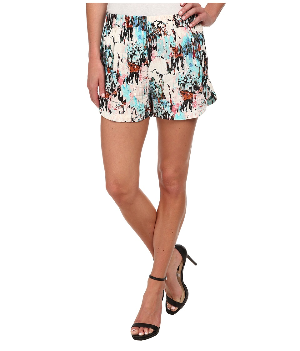 French Connection - Isla Ripple 79DAA (Day Dream Multi) Women's Shorts