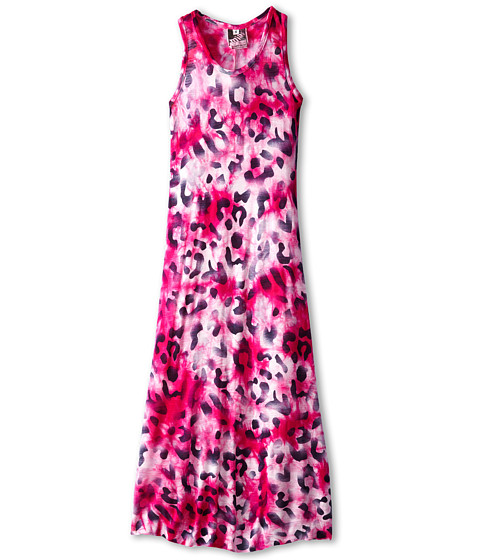Young Fabulous & Broke Mini - Blaire Maxi (Little Kids/Big Kids) (Amethyst Leopard) Girl's Dress