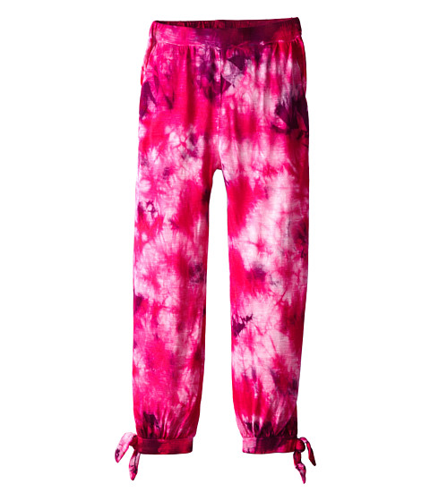 Young Fabulous & Broke Mini - Knotted Pants (Little Kids/Big Kids) (Pink/Amethyst Glitz) Girl's Casual Pants