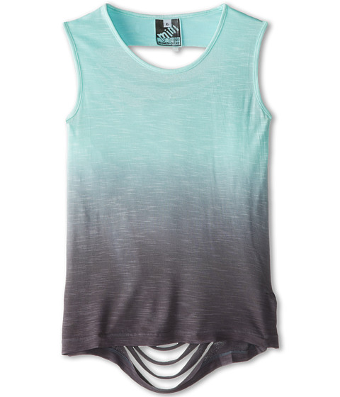 Young Fabulous & Broke Mini - Slice Tank Top (Little Kids/Big Kids) (Sky/Gray Ombre) Girl's Sleeveless