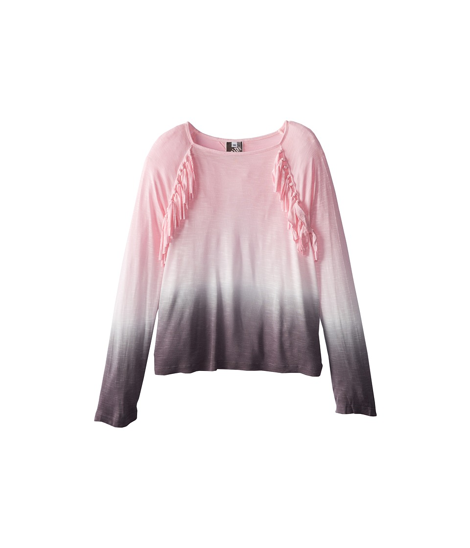 Young Fabulous & Broke Mini - Deb Top (Little Kids/Big Kids) (Pink Ombre) Girl's Clothing