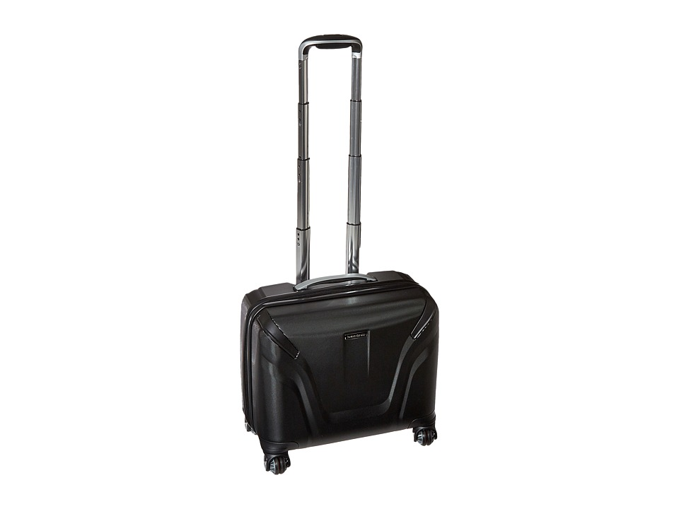 Samsonite - Silhouette Sphere 2 18 Spinner Hardside Business Case (Black) Luggage