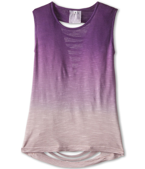 Young Fabulous & Broke Mini - Slice Tank Top (Little Kids/Big Kids) (Purple Ombre) Girl