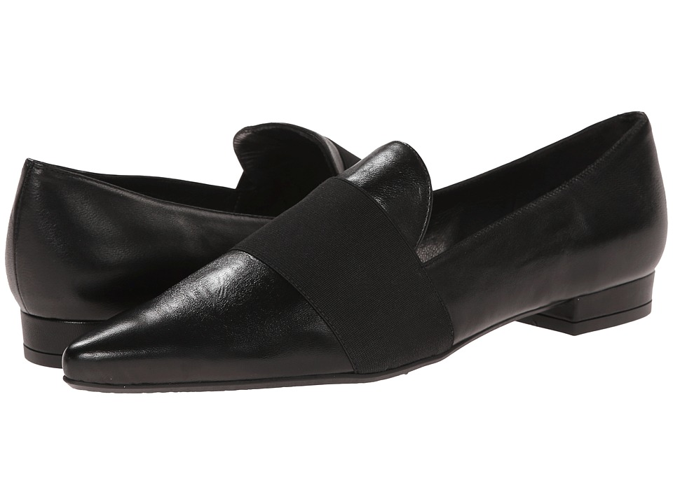 Stuart Weitzman - Theband (Black Nappa) Women's Slip on Shoes