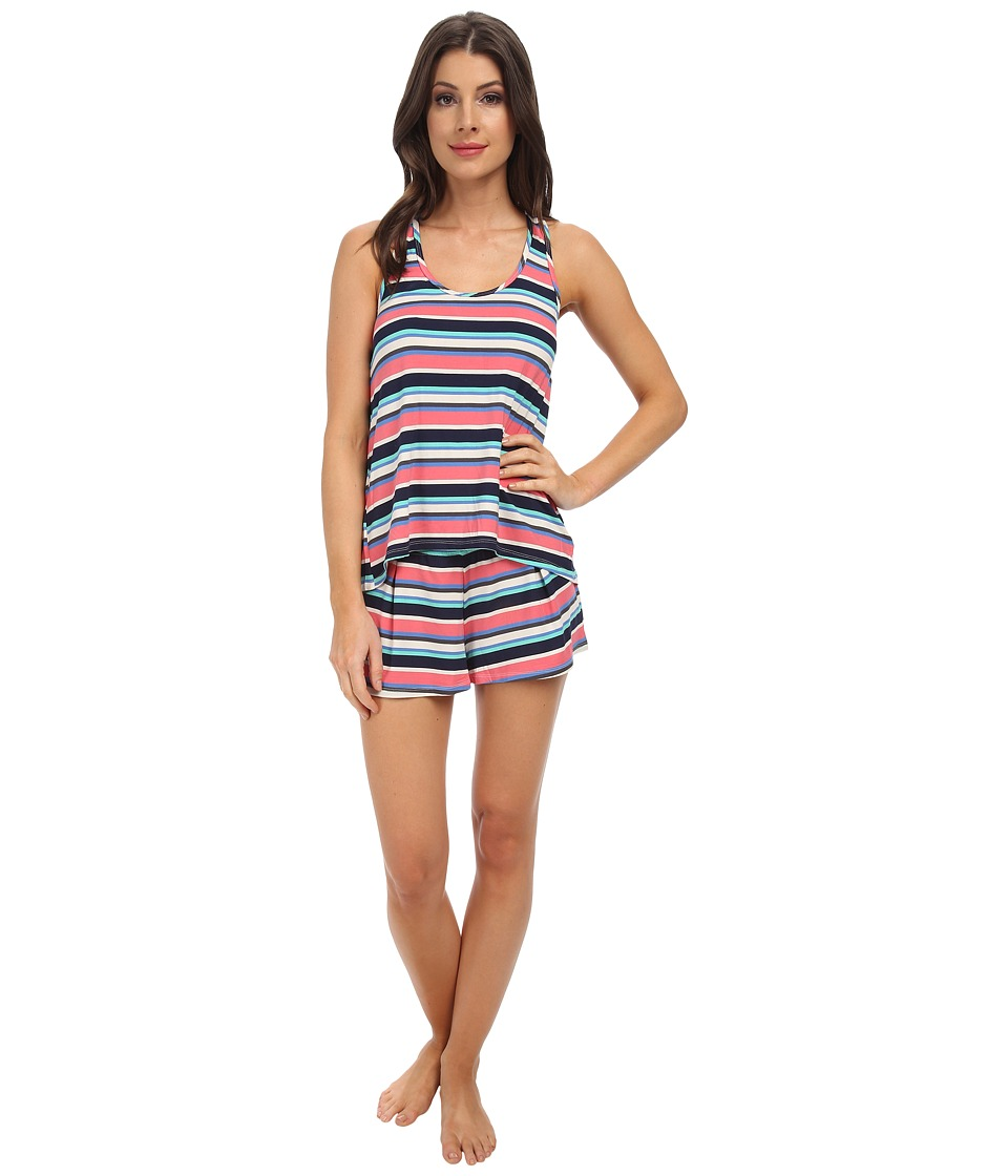 Splendid - Crossback Shorts Set (South Hampton Stripe) Women's Pajama Sets