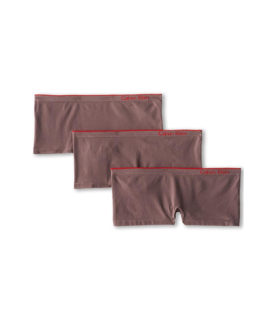 Calvin Klein Underwear - Seamless 3-Pack Hipster (Sparrow) Women's Underwear