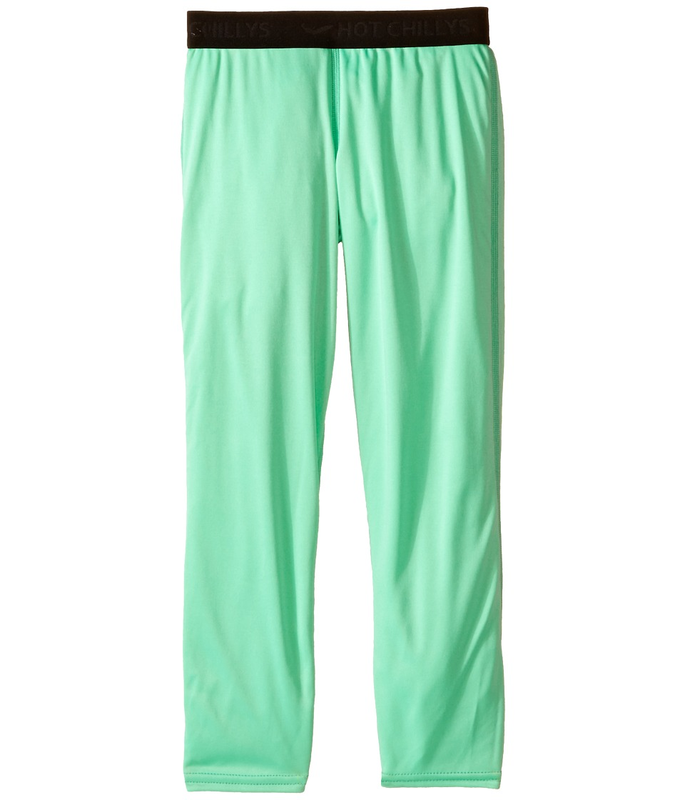 Hot Chillys Kids - Peachskins Bottom (Little Kids/Big Kids) (Spring Green) Kid's Casual Pants