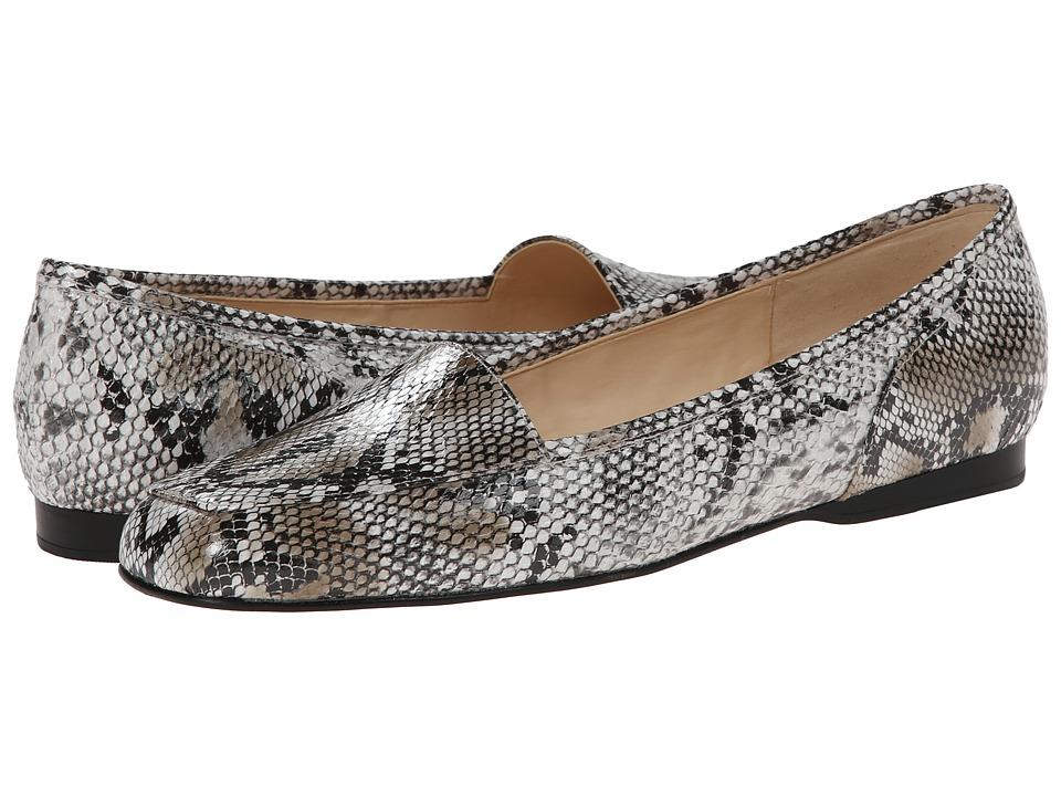 Enzo Angiolini - Liberty (White Multi Synthetic) Women's Flat Shoes