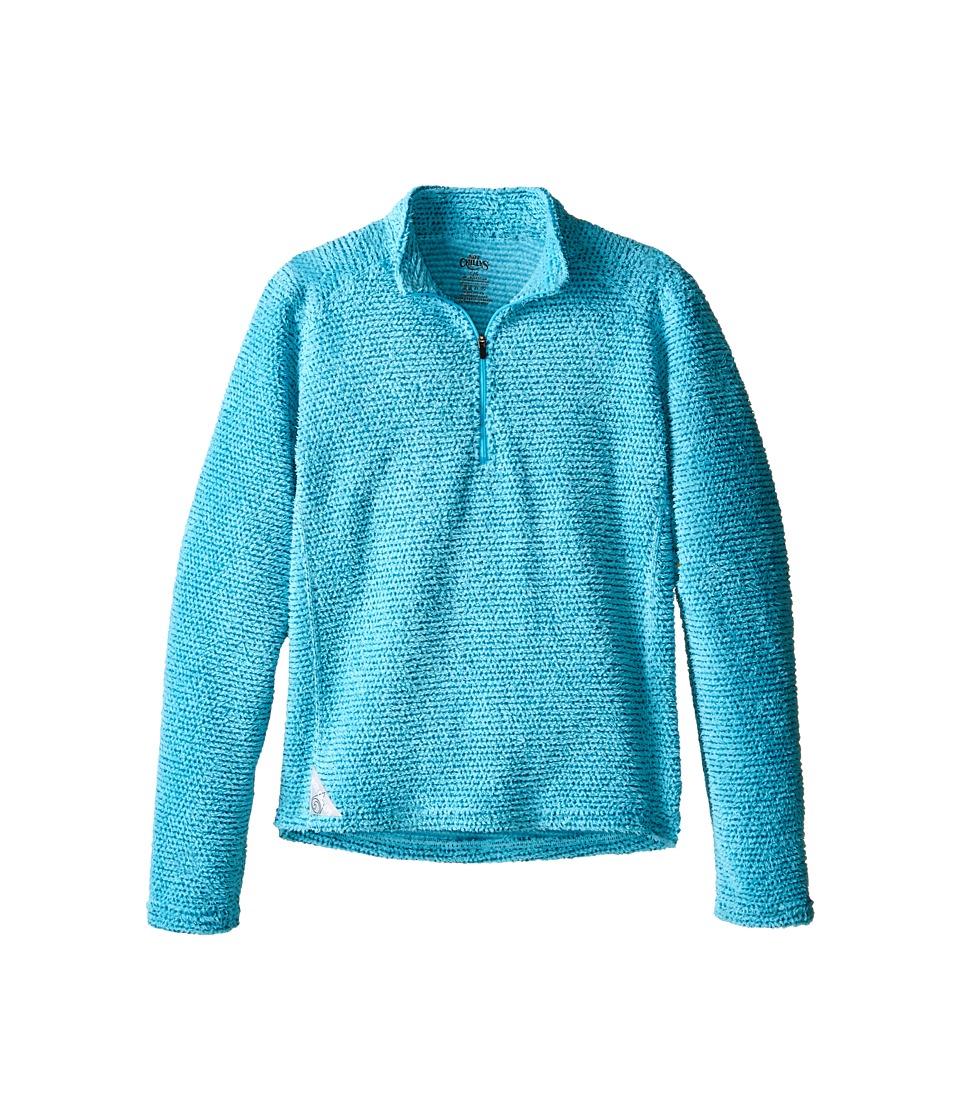 Hot Chillys Kids - Pico Zip-T (Little Kid/Big Kid) (Surf) Kid's Sweatshirt