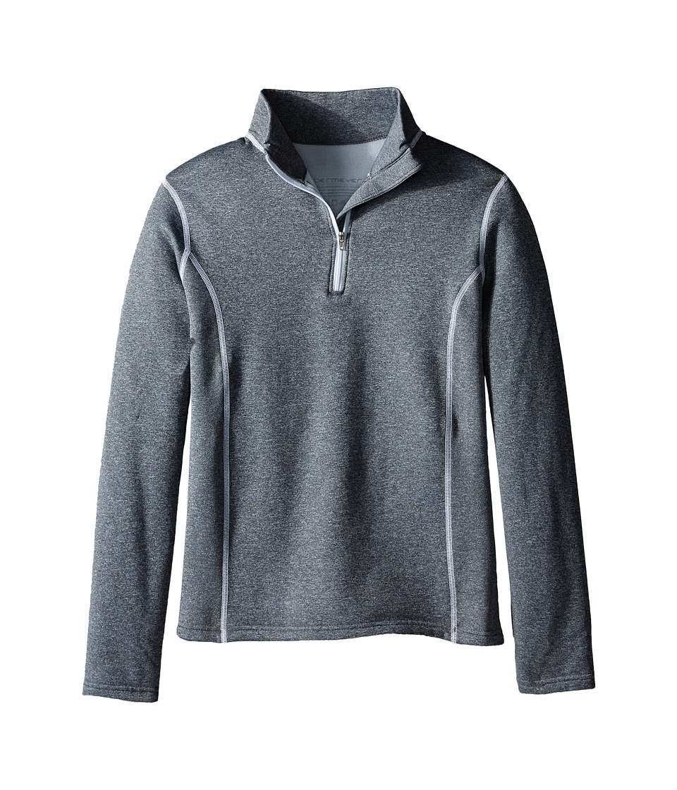 Obermeyer Kids - Solace 150 DC Top (Little Kids/Big Kids) (Heather Grey) Girl's Sweatshirt
