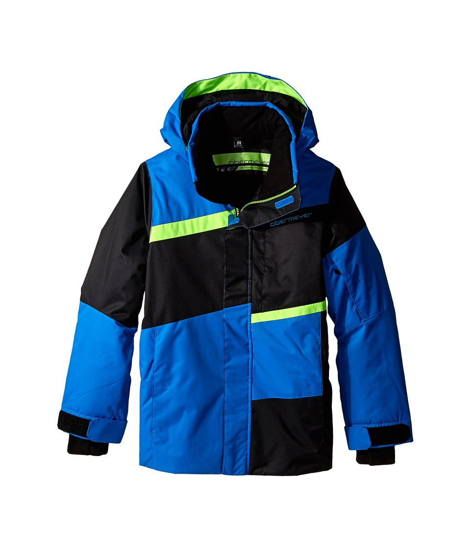 Obermeyer Kids - Rebel Jacket (Little Kids/Big Kids) (Sonic Blue) Boy's Coat