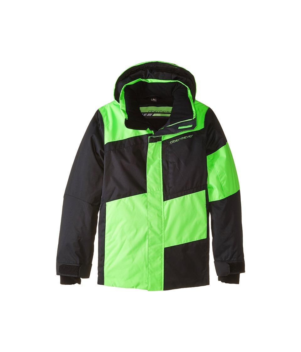 Obermeyer Kids - Rebel Jacket (Little Kids/Big Kids) (Glowstick) Boy's Coat