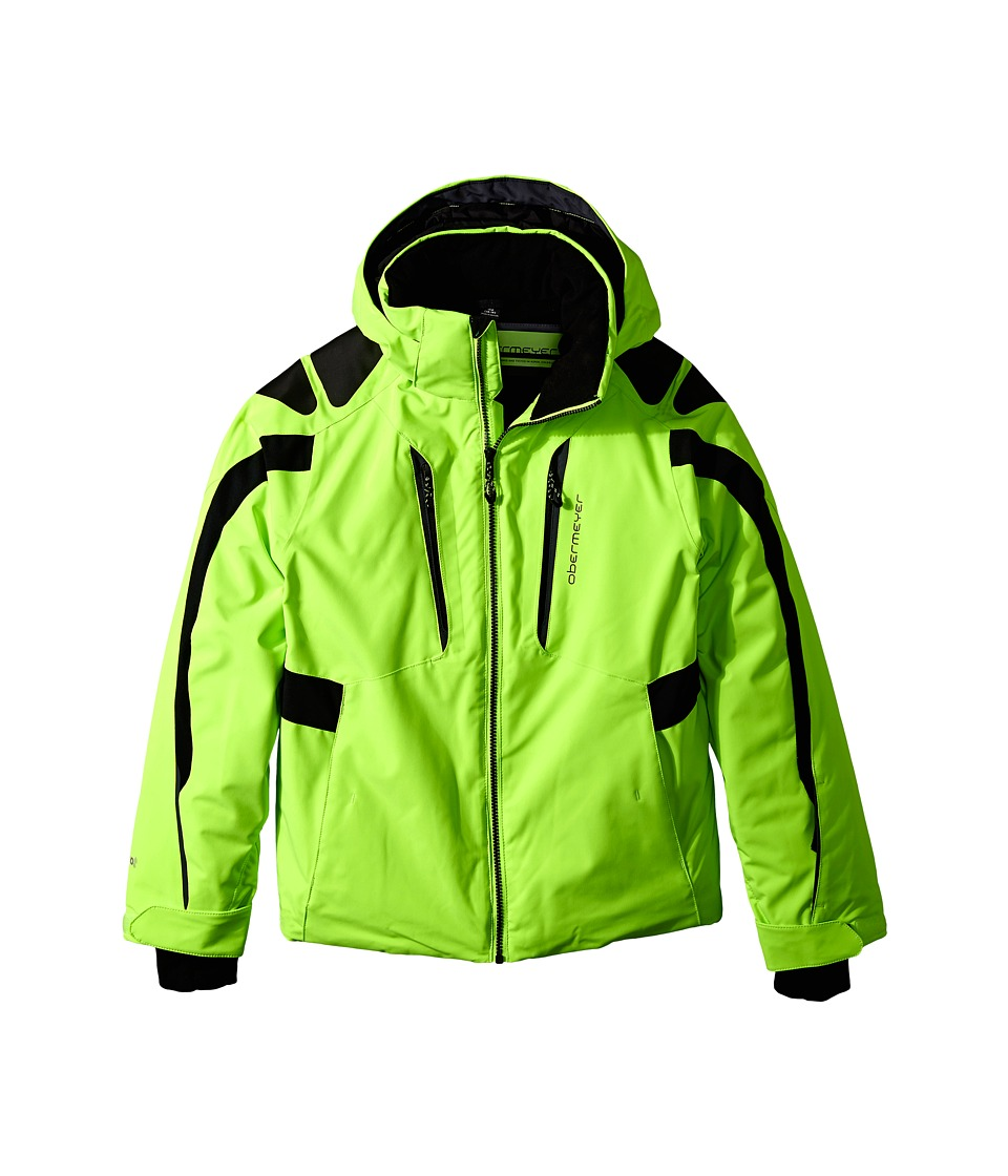 Obermeyer Kids - Mach 7 Jacket (Little Kids/Big Kids) (Glowstick) Boy's Coat