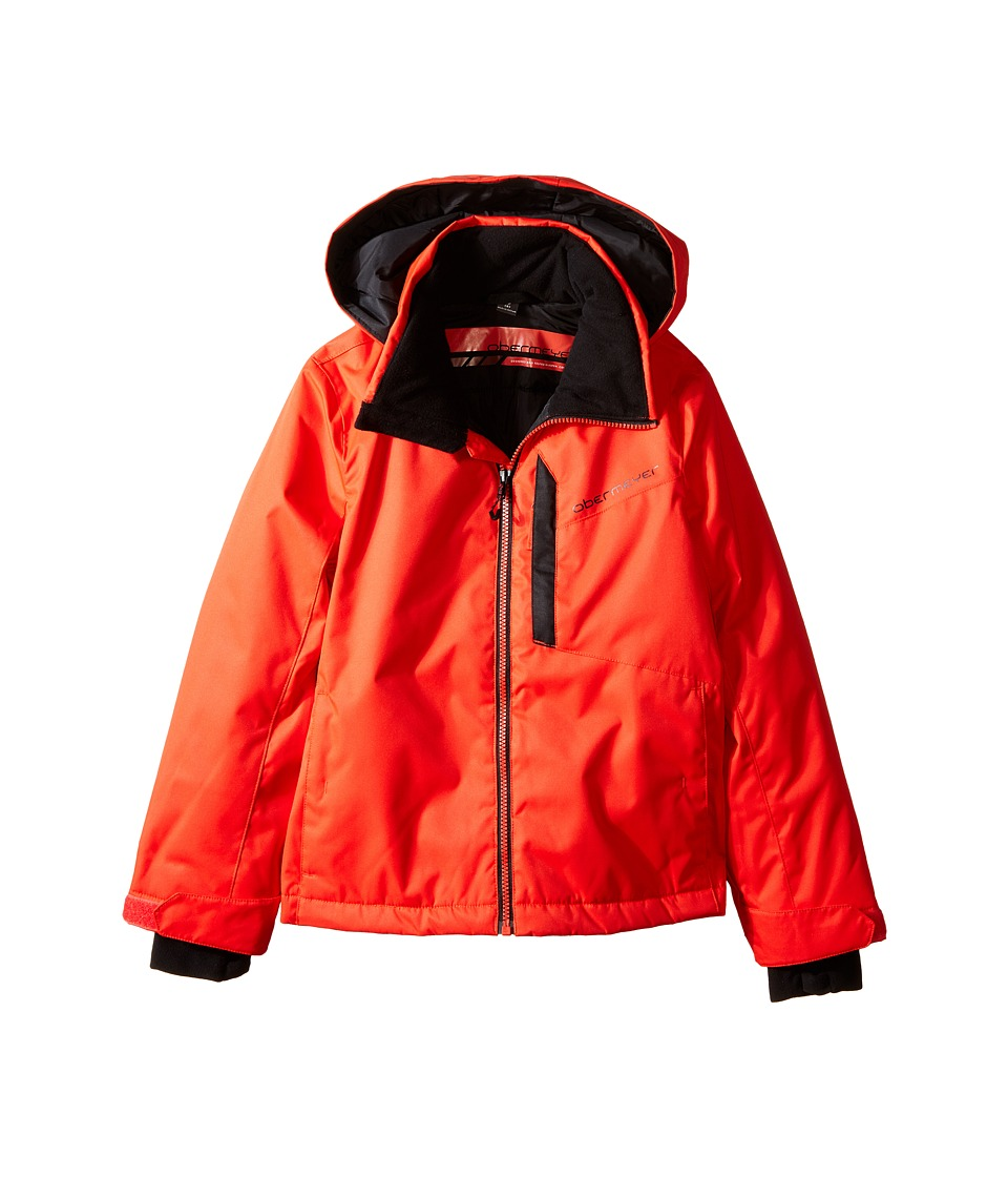 Obermeyer Kids - Ridge Jacket (Little Kids/Big Kids) (Lava) Boy's Coat