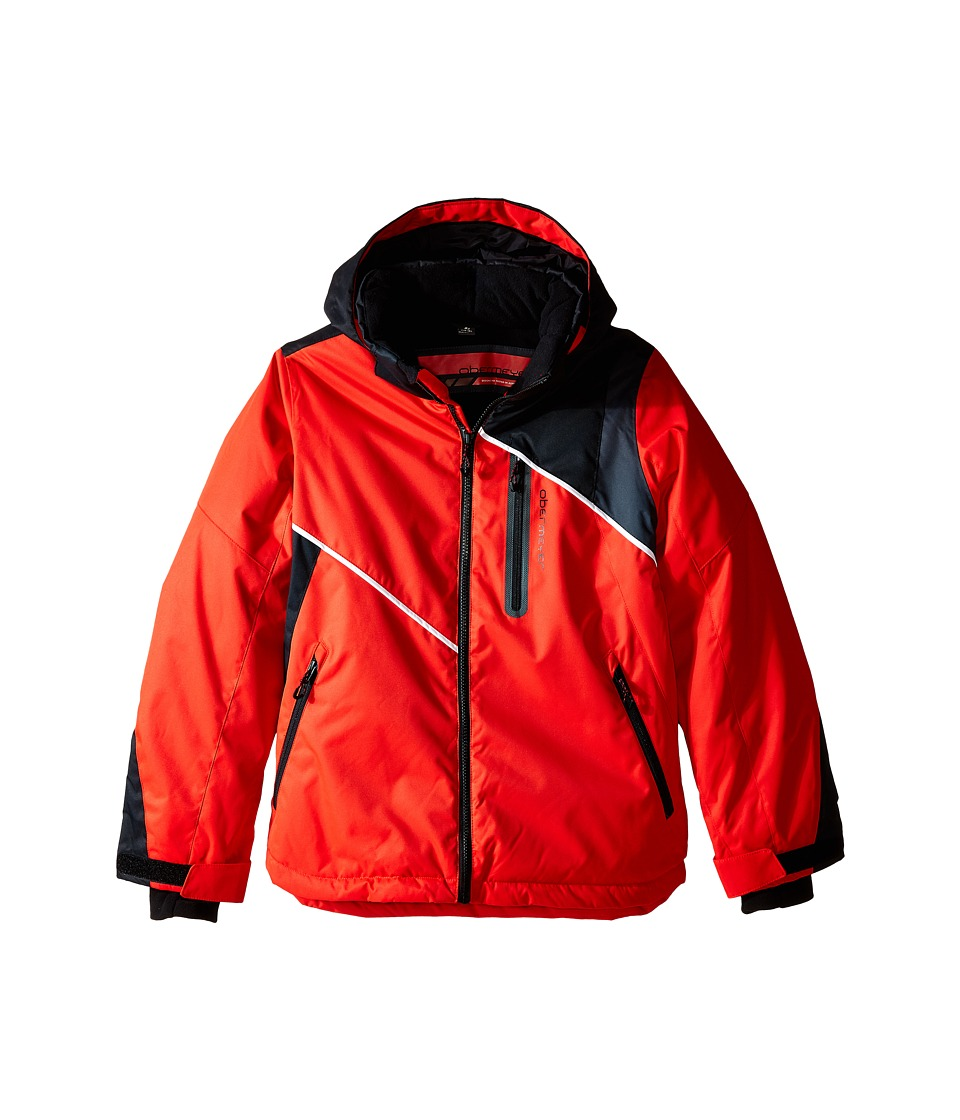 Obermeyer Kids - Iconic Jacket (Little Kids/Big Kids) (Lava) Boy's Coat