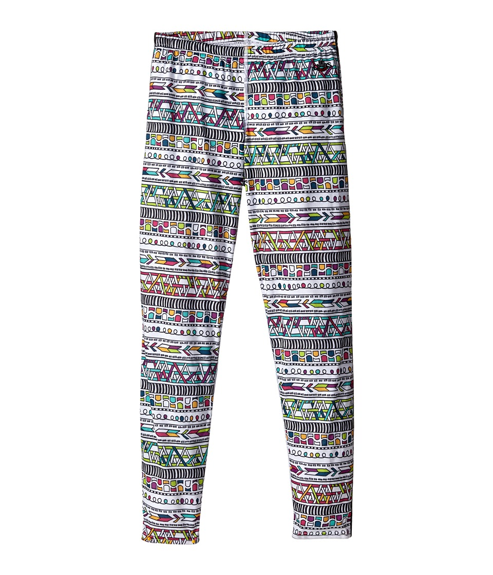 Hot Chillys Kids - Midweight Print Bottom (Little Kids/Big Kids) (Stencil Hyper/Black) Kid's Casual Pants