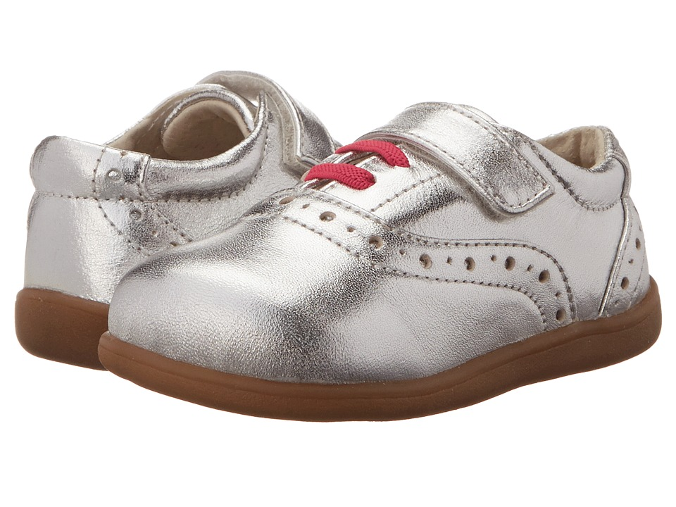 See Kai Run Kids - Gabby (Toddler) (Silver) Girls Shoes