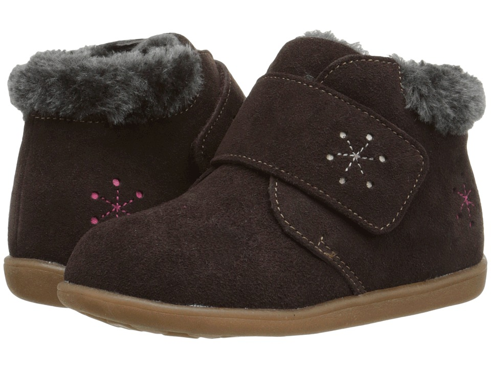 See Kai Run Kids - Dakota (Toddler) (Brown) Girl's Shoes
