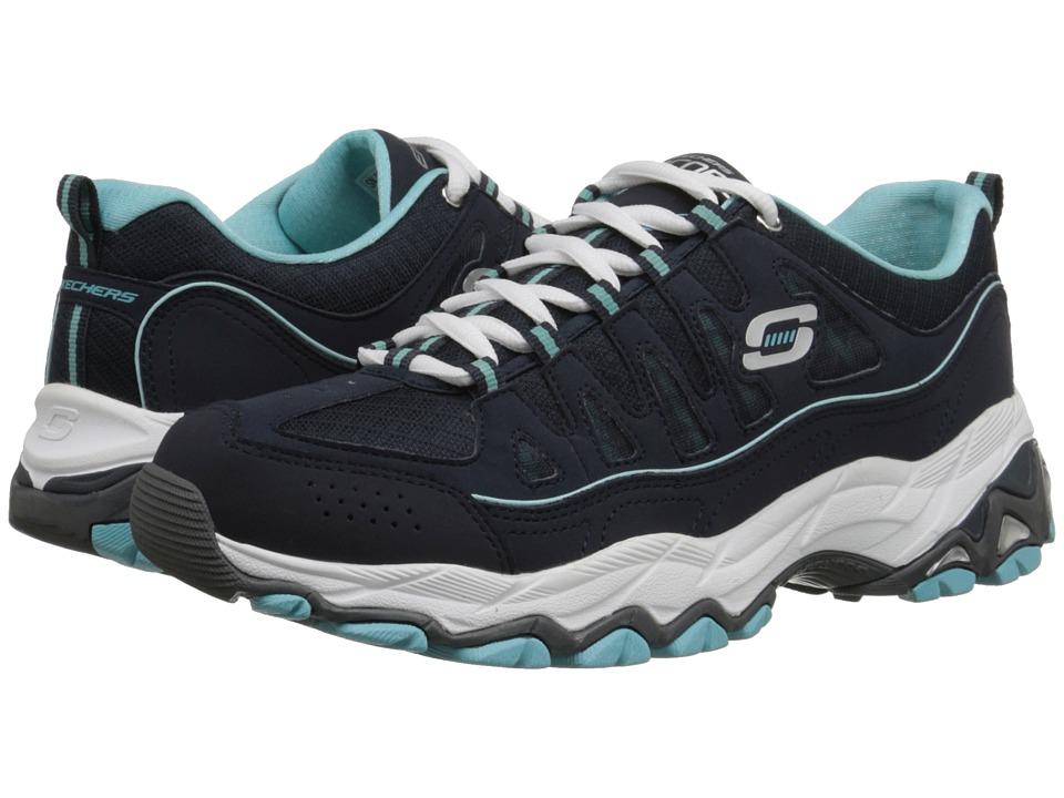 SKECHERS - Encore - Be Seen (Navy Light Blue) Women's Shoes