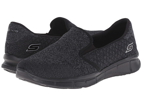 SKECHERS - Equalizer - Say Something (Black) Women's Shoes