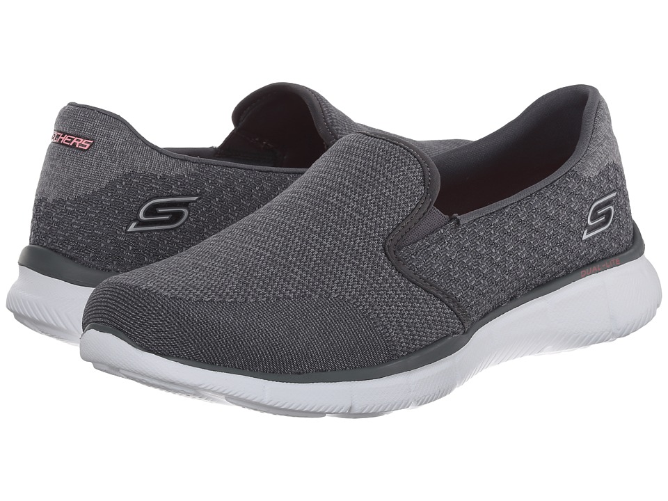 SKECHERS - Equalizer - Say Something (Charcoal) Women