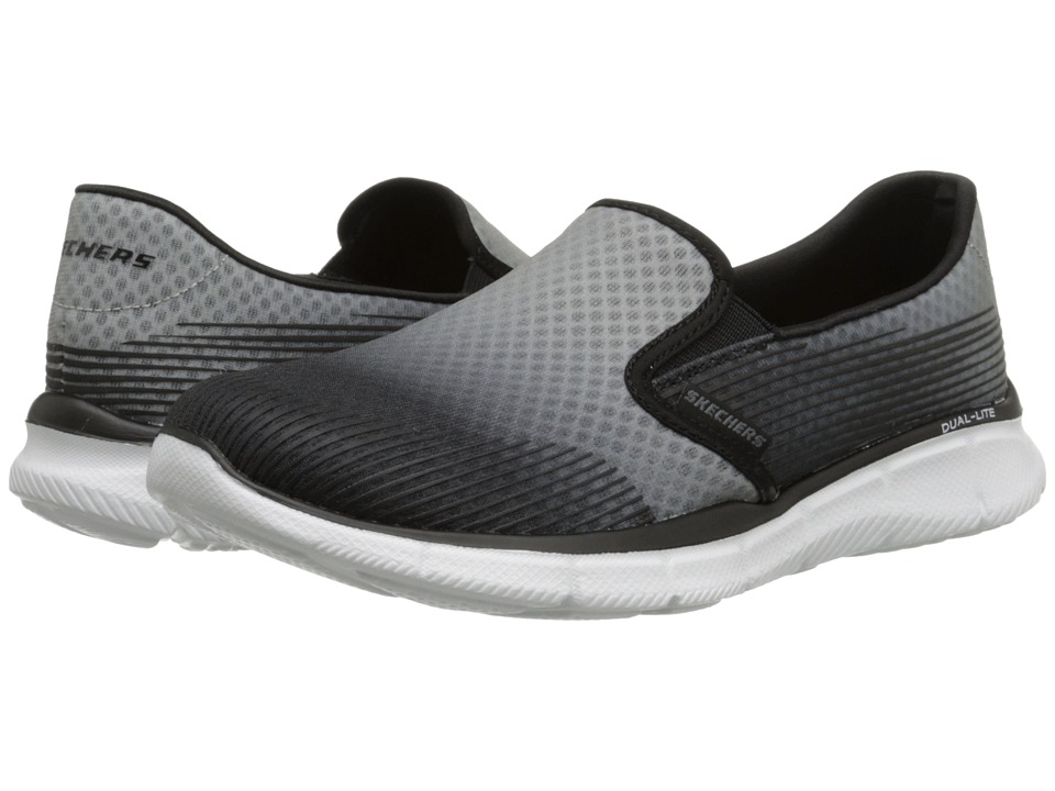 SKECHERS - Equalizer - Space Out (Gray Black) Women's Shoes