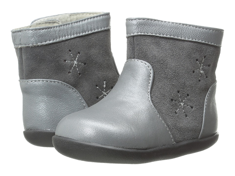 See Kai Run Kids - Penny (Infant/Toddler) (Gray) Girl's Shoes