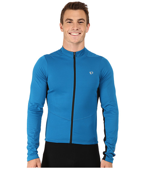Pearl Izumi - Attack Long Sleeve Jersey (Mykonos Blue/Black) Men's Clothing