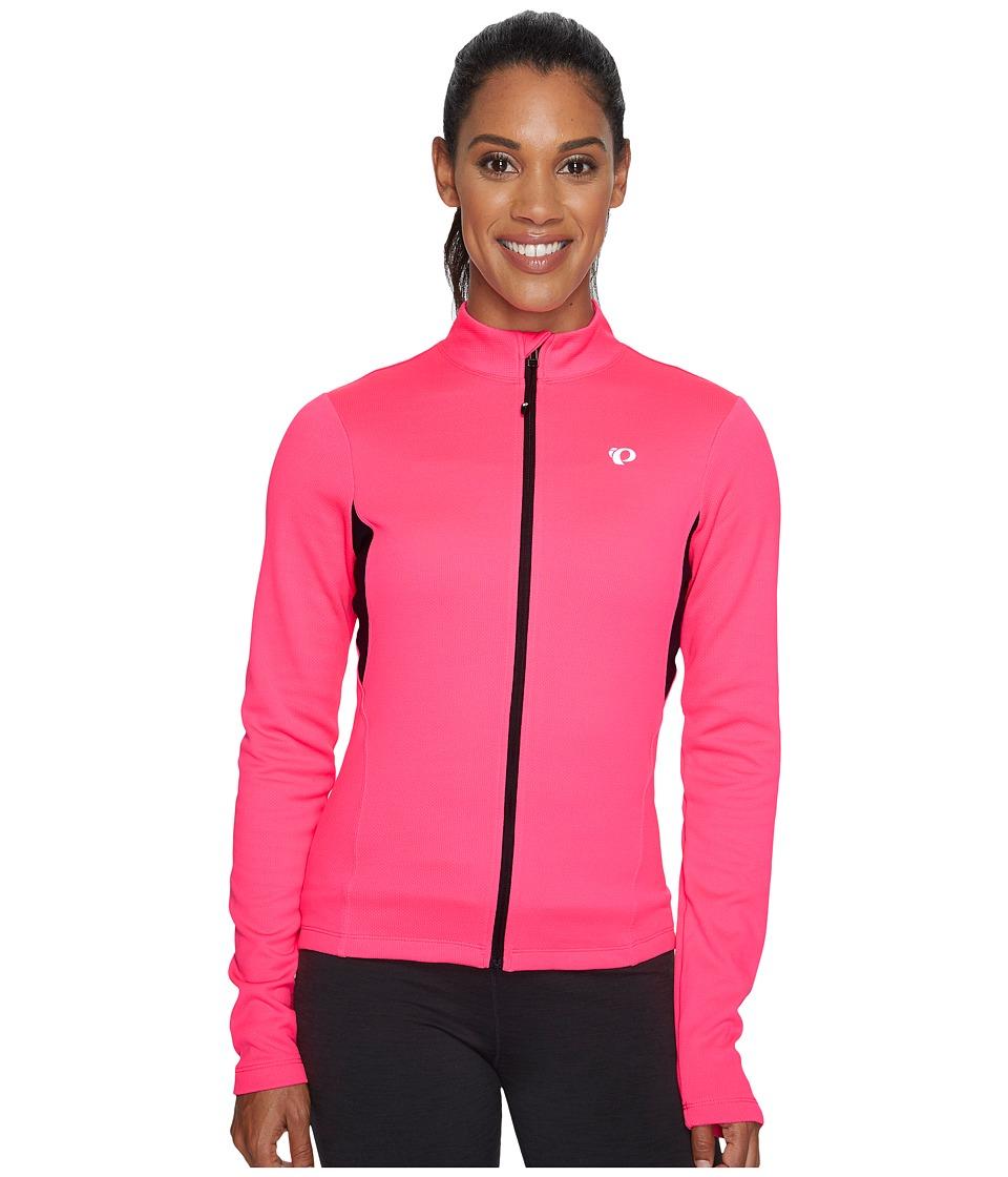 Pearl Izumi - W Sugar Thermal Jersey (Screaming Pink) Women's Workout