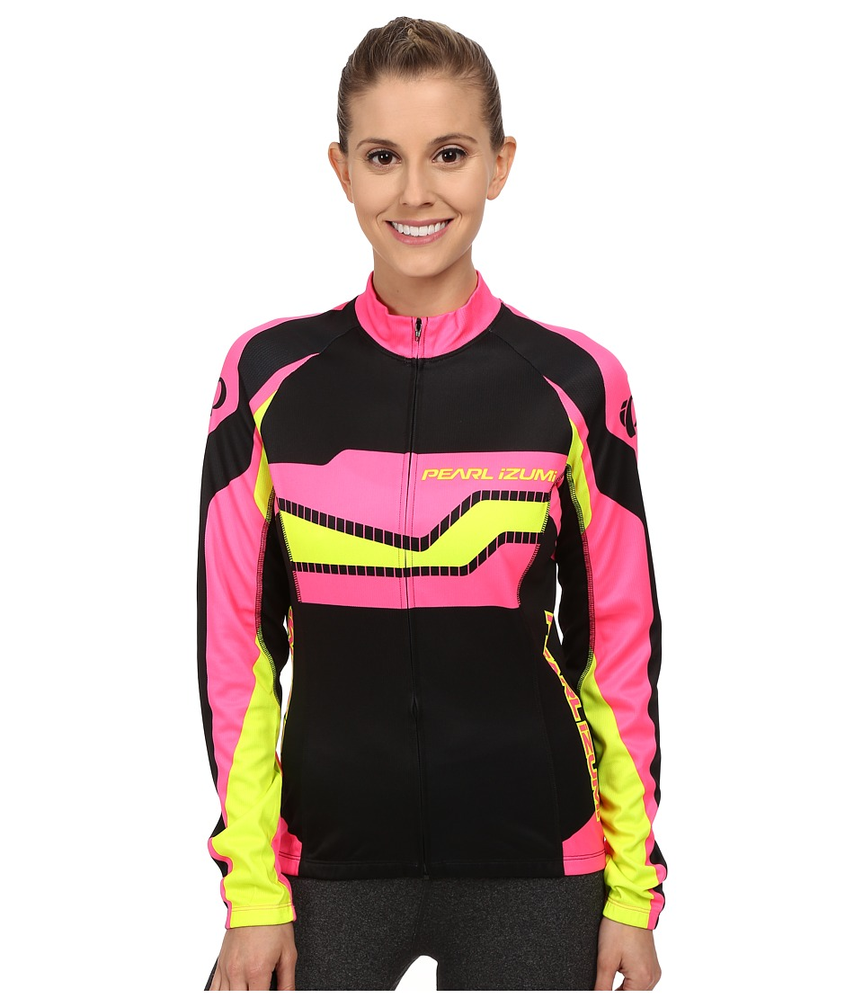 Pearl Izumi - W Elite Thermal LTD Jersey (Build Screaming Pink) Women's Workout