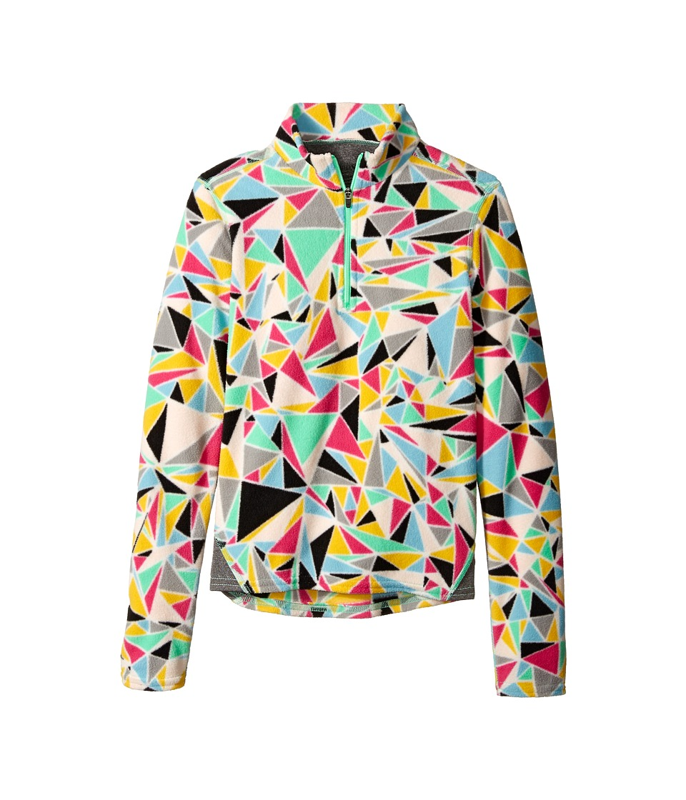 Hot Chillys Kids - La Montana Print Zip Top (Little Kid/Big Kid) (Shatter Prism/Granite) Kid's Long Sleeve Pullover
