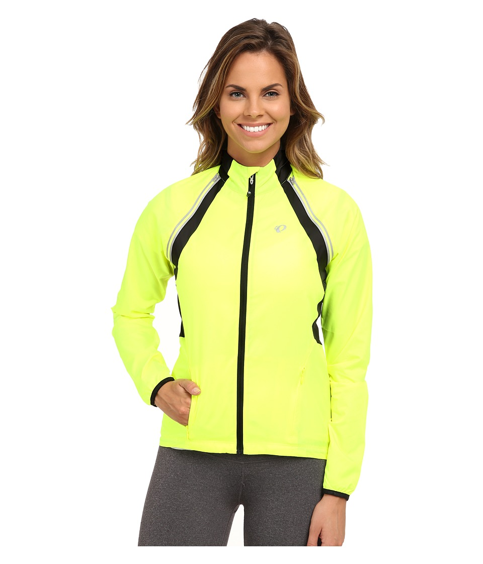 Pearl Izumi - W ELITE Barrier Convertible Cycling Jacket (Screaming Yellow) Women's Workout