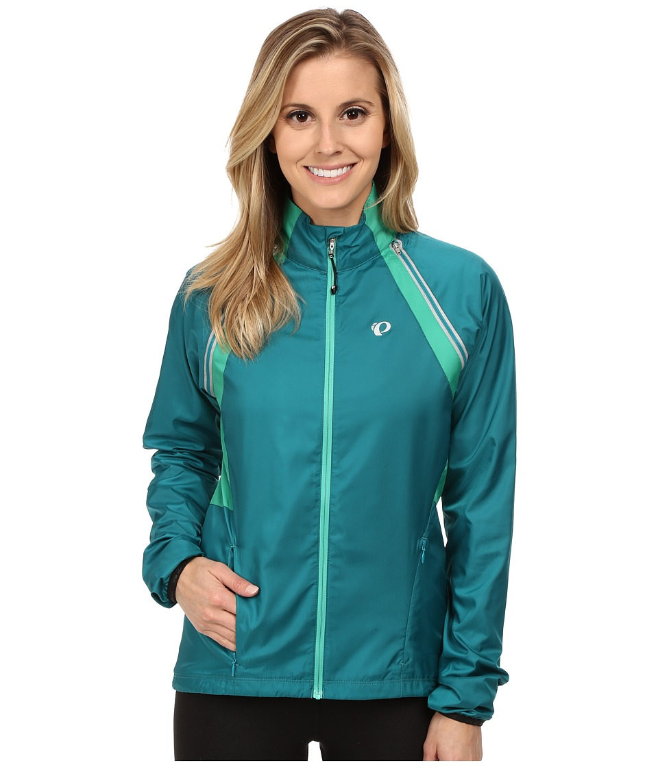 Pearl Izumi - W ELITE Barrier Convertible Cycling Jacket (Deep Lake) Women's Workout