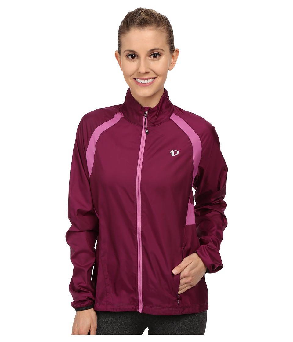 Pearl Izumi - W ELITE Barrier Cycling Jacket (Dark Purple) Women's Workout
