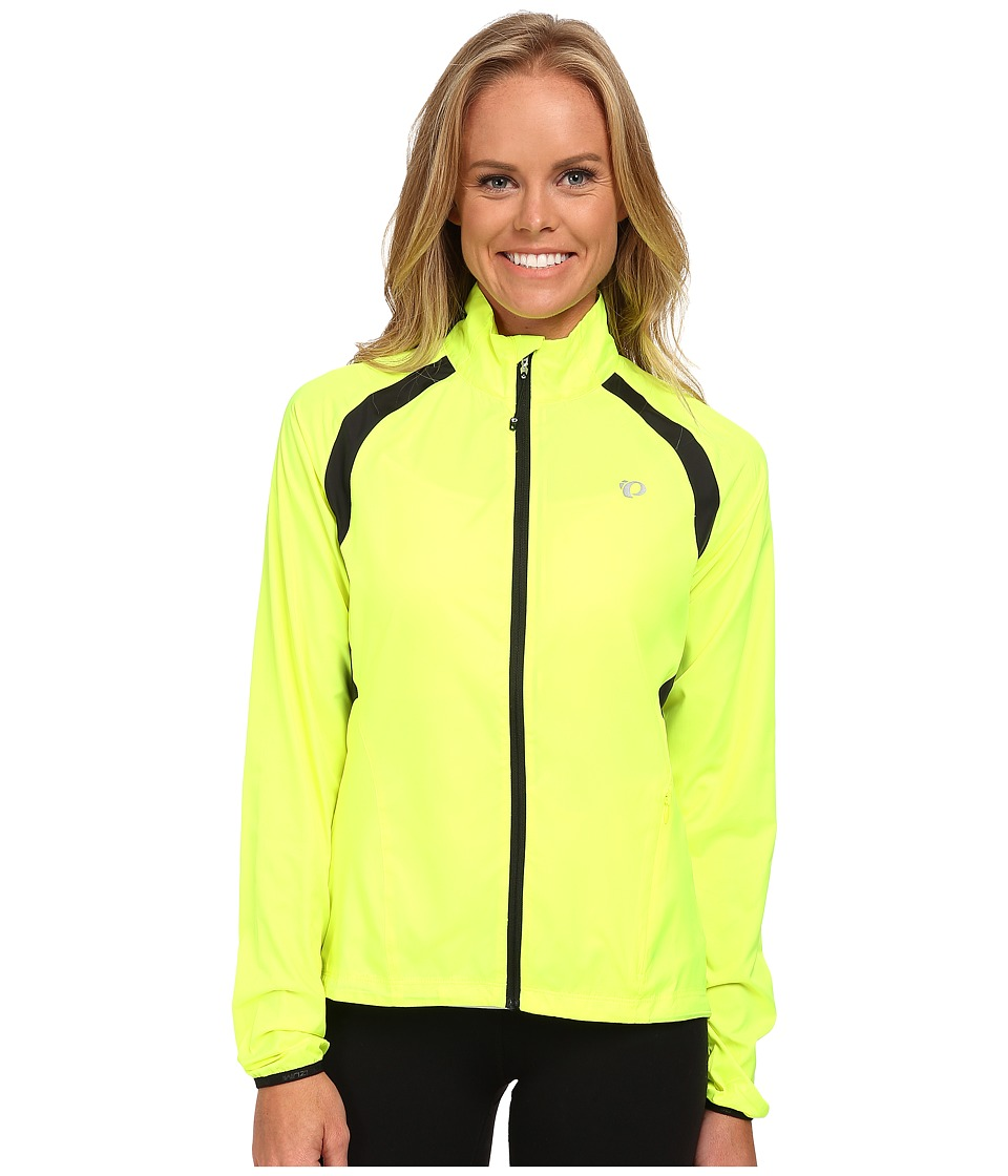 Pearl Izumi - W ELITE Barrier Cycling Jacket (Screaming Yellow) Women's Workout