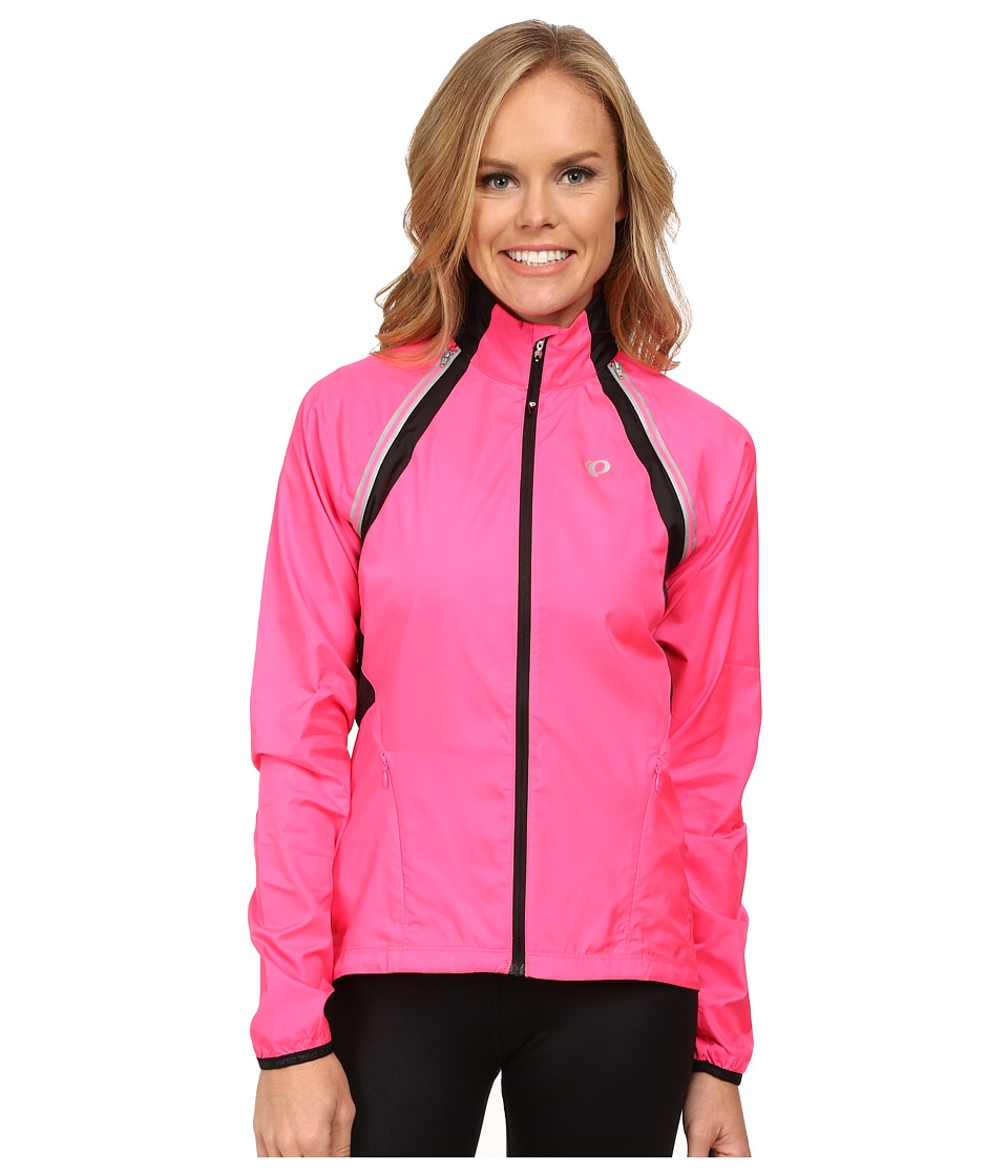 Pearl Izumi - W ELITE Barrier Convertible Cycling Jacket (Screaming Pink) Women's Workout