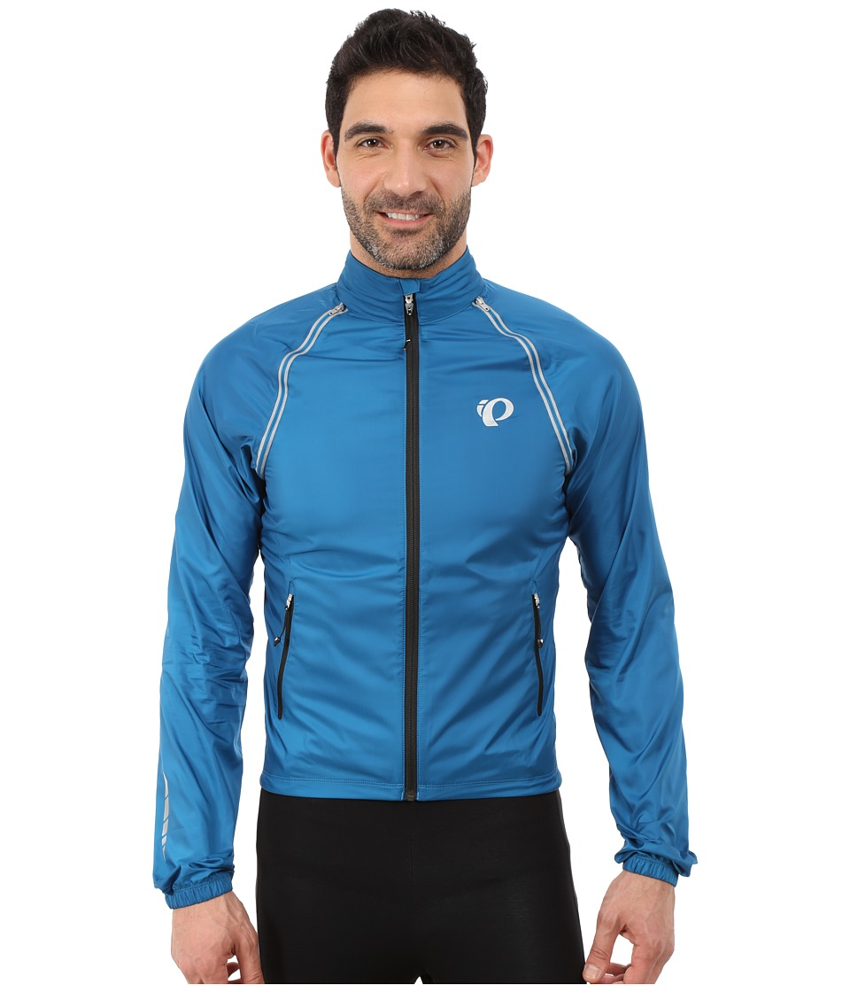 Pearl Izumi - Elite Barrier Convertible Cycling Jacket (Mykonos Blue) Men's Coat